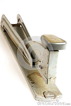 Antique long reach stapler office supply