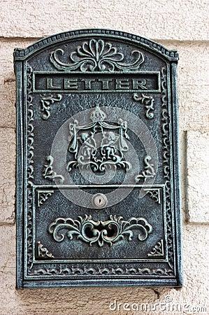 Antique mail box