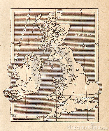 Antique Map of Britain