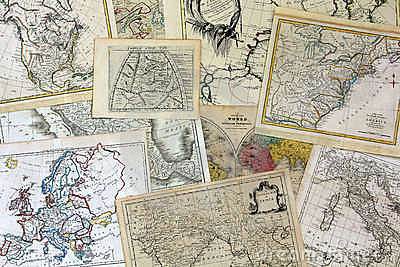 Antique Map Collection