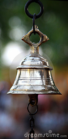 Antique metal bell