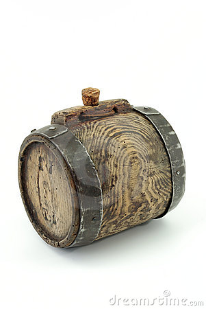 Antique mini wine keg