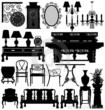Free Antique Old Furniture Home House Stock Photos - 16681123