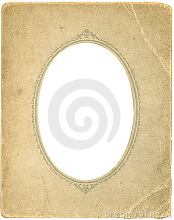 Free Antique Oval Frame Stock Image - 518531