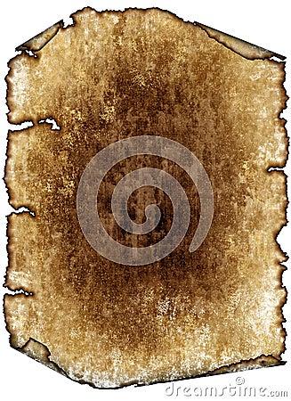 Antique parchment paper scroll, texture