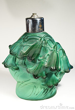 Antique Parfume Bottle Royalty Free Stock Photo - Image: 15348755