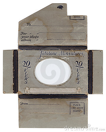 Antique Photo Envelope