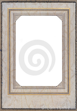 Free Antique Photo Frame From The 1920 S Royalty Free Stock Photography - 5231947