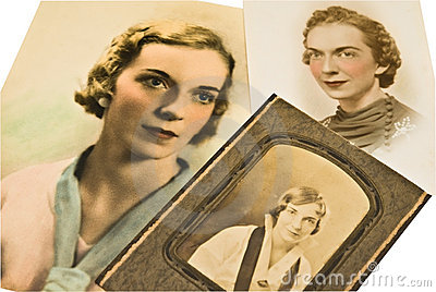 Antique Photos of a Woman