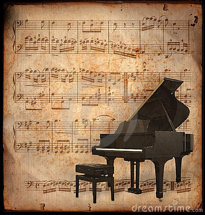 Free Antique Piano Stock Images - 2127414