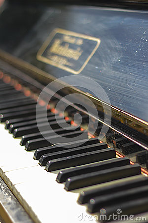 Antique Piano Keys