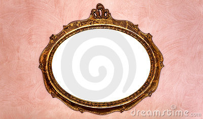 Antique Picture Frame Royalty Free Stock Images - Image: 15019519
