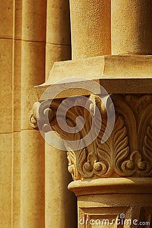 Antique Pillar Details