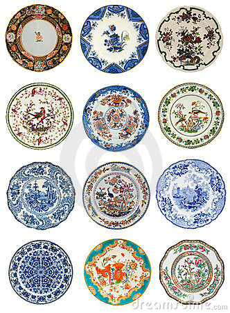 Free Antique Plate Images Stock Images - 5967654