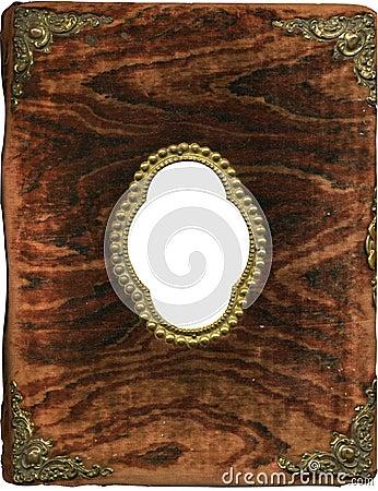 Free Antique Plush Album Cover Stock Photo - 297890