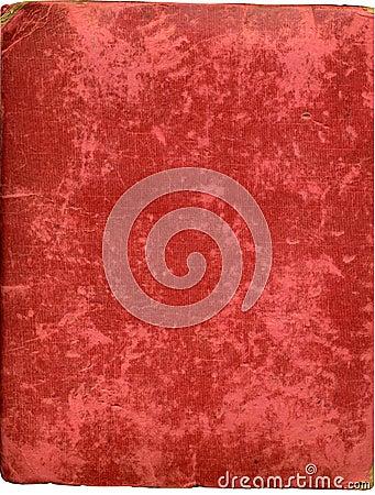 Antique plush album cover