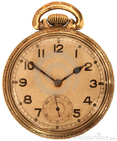 Free Antique Pocket Watch Royalty Free Stock Photo - 11884045