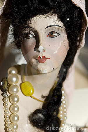 Antique porcelain doll