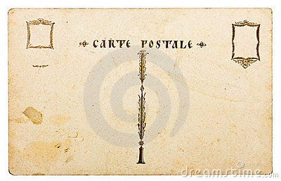 Antique postcard