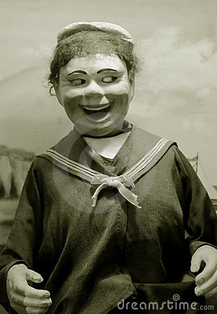 Antique puppet
