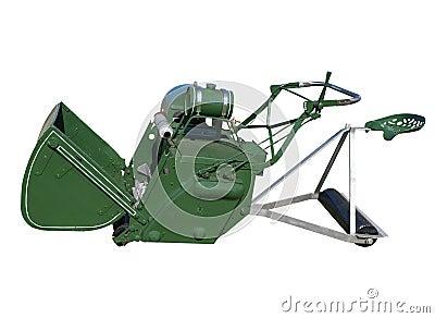 Antique Ride-on Lawnmower