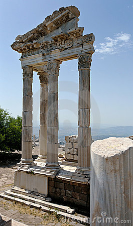 Antique ruins in Ephesus