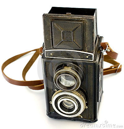 Free Antique Russian TLR Camera Royalty Free Stock Images - 4934419