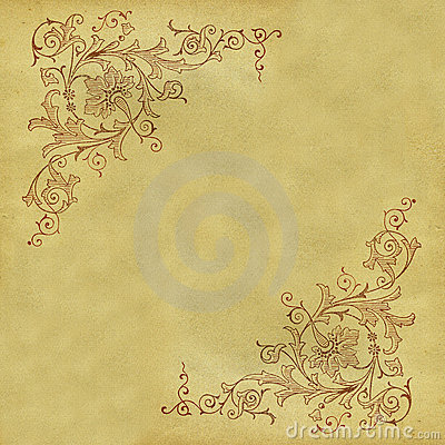 Free Antique Scroll Pattern Stock Image - 306061
