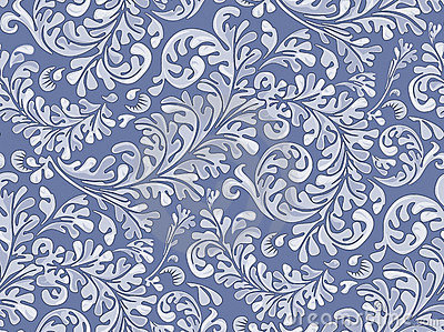 Antique Seamless Wallpaper Pattern