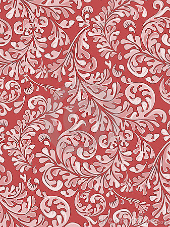 Free Antique Seamless Wallpaper Pattern Royalty Free Stock Images - 1592969