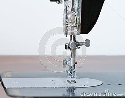 Antique sewing machine needle