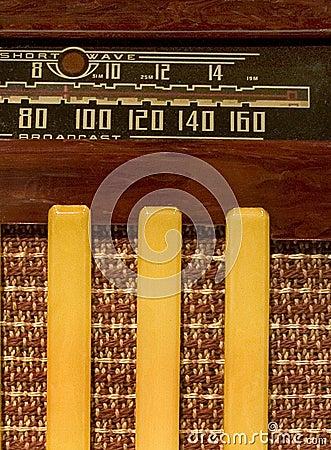 Antique shortwave radio