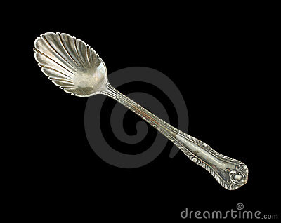Antique small sugar spoon