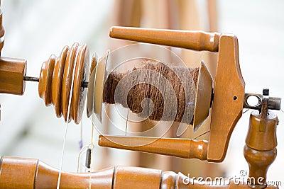 Antique spinning machine