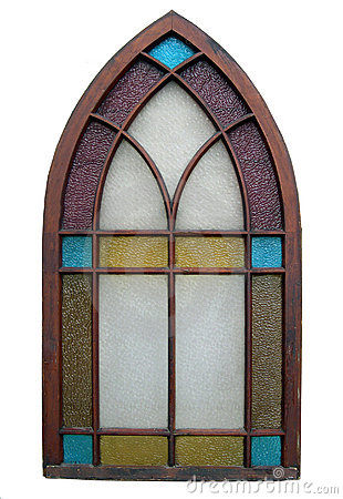 Free Antique Stained Glass Window Royalty Free Stock Image - 397786