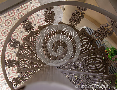 Antique stairways