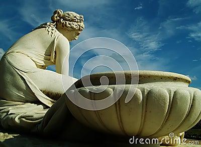 Antique statue
