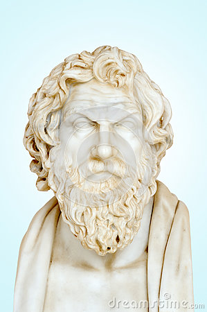 Statue of Antisthenes