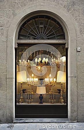 Antique Store Facade