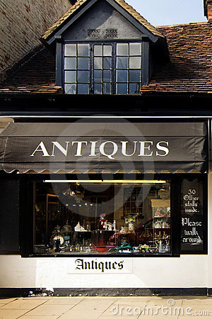 Free Antique Store In England Stock Photo - 10047190