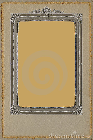 Antique Studio Photo Frame