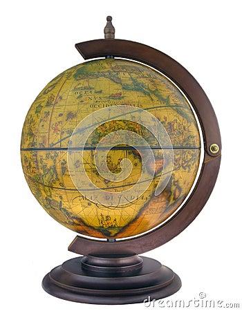 Antique style globus