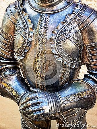 Antique suit of armor