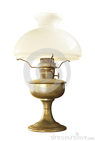 Free Antique Table Lamp Stock Photo - 24894540