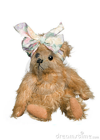 Free Antique Teddy Bear Stock Photography - 10650602