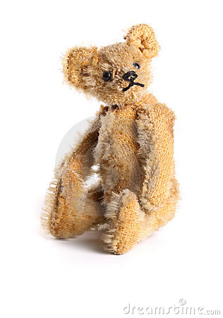 Free Antique Teddy Bear Royalty Free Stock Image - 12382806