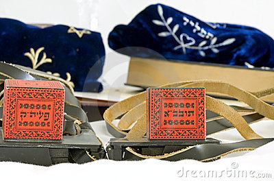 Antique tefillin bags