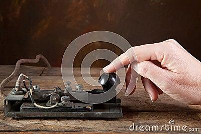 Antique telegraph