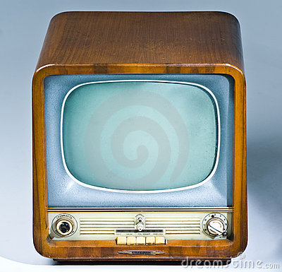 Antique Television Set