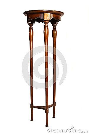 antique three legged table 3